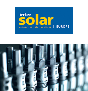 Stäubli Electrical Connectors at Intersolar Europe in a new guise for the first time