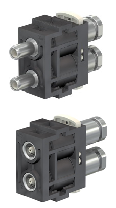 The new CombiTac 6 GHz coaxial unit with crimp <br>or SMA termination