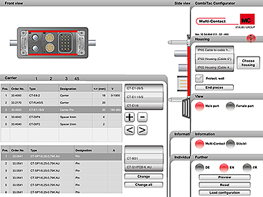 Our online CombiTac configuration tool is now also available for iPad