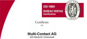 ISO 14001: Multi-Contact is committed to sustainability