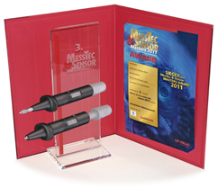 "MessTec & Sensor Masters Award 2011<br>""bronze"" for Multi-Contact's new test probe"