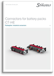Connectors for battery packs CT-HE Flyer