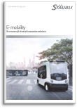 Solutions for e-mobility Flyer