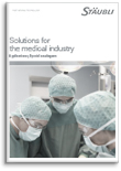 Solutions for the medical industry Flyer